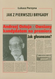 okładka Jak z Pierwszej Brygady Opowieść o Andrzeju Ostoi-Owsianym, Książka | Perzyna Łukasz