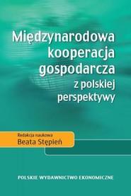 okładka Międzynarodowa kooperacja gospodarcza z polskiej perspektywy, Książka |