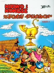 okładka Kajko i Kokosz Złoty Puchar 3, Książka   Janusz Christa