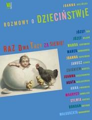 okładka Rozmowy o dzieciństwie, Książka | Rolińska Joanna