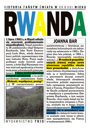okładka Rwanda, Książka   Bar Joanna