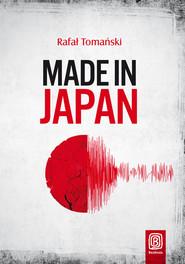 okładka Made in Japan, Książka | Tomański Rafał
