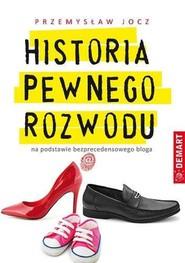 okładka Historia pewnego rozwodu, Książka | Jocz Przemysław