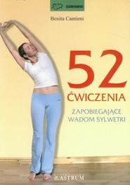 okładka 52 ćwiczenia zapobiegające wadom sylwetki, Książka | Cantieni Benita
