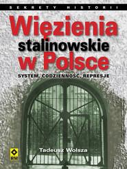 okładka Więzienia stalinowskie w Polsce System, codzienność, represje., Książka | Tadeusz Wolsza