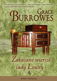 okładka Zakazane wiersze lady Louisy, Książka   Grace Burrowes