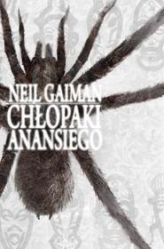 okładka Chłopaki Anansiego, Książka | Neil Gaiman