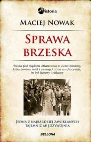 okładka Sprawa brzeska, Książka | Maciej Nowak