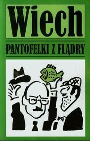 okładka Pantofelki z flądry, Książka   Wiechecki Stefan