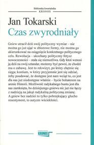 okładka Czas zwyrodniały, Książka   Jan Tokarski