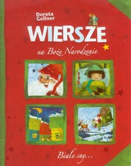 okładka Wiersze na Boże Narodzenie, Książka   Gellner Dorota