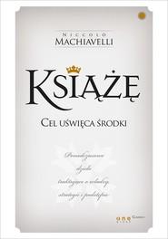 okładka Książę, Książka   Niccolò  Machiavelli