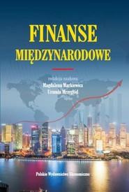okładka Finanse międzynarodowe Wybrane problemy, Książka |
