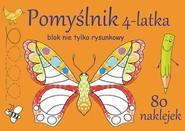 okładka Pomyślnik 4-latka Blok nie tylko rysunkowy, Książka | Brylińska Iwona