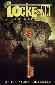 okładka Locke & Key 2 Łamigłówki, Książka   Joe Hill