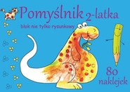 okładka Pomyślnik 2-latka Blok nie tylko rysunkowy, Książka | Brylińska Iwona