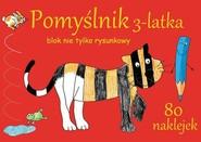 okładka Pomyślnik 3-latka Blok nie tylko rysunkowy, Książka | Brylińska Iwona