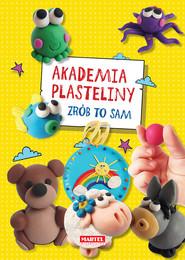 okładka Akademia plasteliny Zrób to sam, Książka | Kusz Jolanta