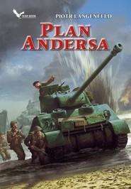 okładka Czerwona ofensywa Tom 3 Plan Andersa, Książka | Piotr Langenfeld
