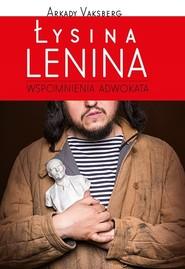okładka Łysina Lenina, Książka | Vaksberg Arkady