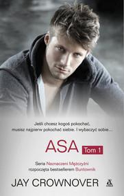 okładka Asa Tom 1, Książka | Jay CROWNOVER