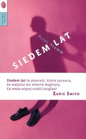 okładka Siedem lat, Książka   Peter Stamm