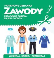 okładka Papierowe ubranka Zawody, Książka |