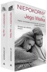 okładka Niepokorny Tom 1-2 Pakiet, Książka | Jay CROWNOVER