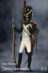 okładka Żołnierz Imperialny Tom II-1 Życie w czasie kampanii, Książka | Morvan Jean
