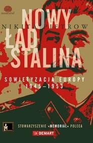 okładka Nowy ład Stalina, Książka | Nikita  Pietrow