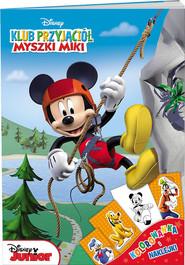 okładka Klub Przyjaciół Myszki Miki Kolorowanka i naklejki, Książka |