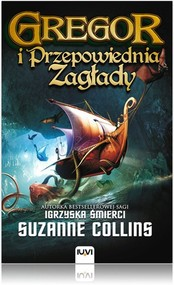 okładka Kroniki Podziemia Księga 2 Gregor i Przepowiednia Zagłady, Książka   Suzanne Collins