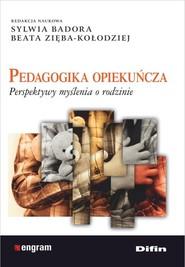 okładka Pedagogika opiekuńcza Perspektywy myślenia o rodzinie, Książka | Sylwia Badora, Beata Zięba-Kołodziej