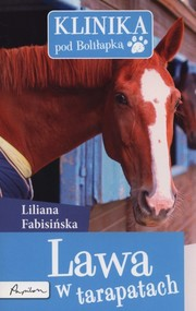 okładka Klinika pod Boliłapką Lawa w tarapatach, Książka | Liliana Fabisińska
