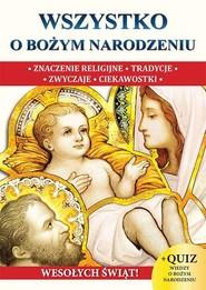 okładka Wszystko o Bożym Narodzeniu, Książka |