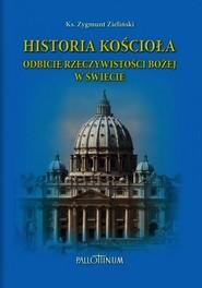 okładka Historia Kościoła Odbicie rzeczywistości Bożej w świecie, Książka | Zieliński Zygmunt