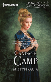 okładka Mistyfikacja Powieść Historyczna, Książka | Candace Camp