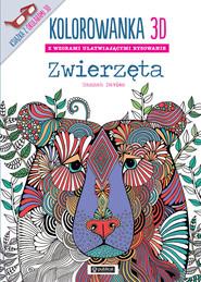 okładka Kolorowanka 3D Zwierzęta, Książka | Davies Hannah