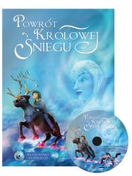 okładka Powrót Królowej Śniegu  + CD, Książka  