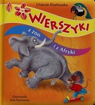 okładka Wierszyki z zoo i z Afryki, Książka | Urszula Kozłowska