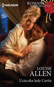 okładka Ucieczka lady Curtis, Książka | Louise Allen
