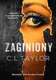 okładka Zaginiony, Książka | C.L. Taylor