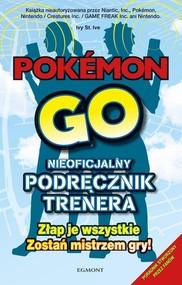 okładka Pokemon Go Przewodnik, Książka |