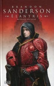 okładka Elantris wydanie specjalne, Książka | Brandon Sanderson