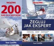 okładka Pakiet 200 rad dla skiperów / Żegluj jak ekspert Pakiet, Książka | Cunliffe Tom