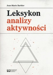 okładka Leksykon analizy aktywności, Książka | Barbier Jean-Marie