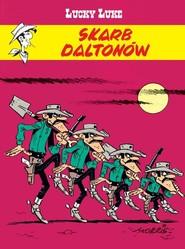 okładka Lucky Luke Skarb Daltonów, Książka | René Goscinny