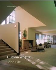 okładka Historia wnętrz, Książka | Pile John