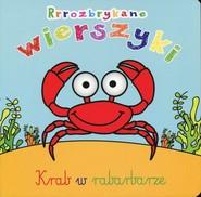okładka Rrrozbrykane wierszyki Krab w rabarbarze, Książka | Urszula Kozłowska