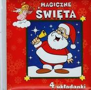 okładka Magiczne Święta 4 układanki, Książka | Urszula Kozłowska